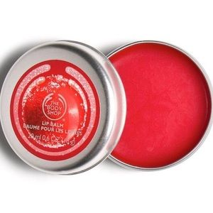 The Body Shop Frosted Cranberry Lip Balm NEW